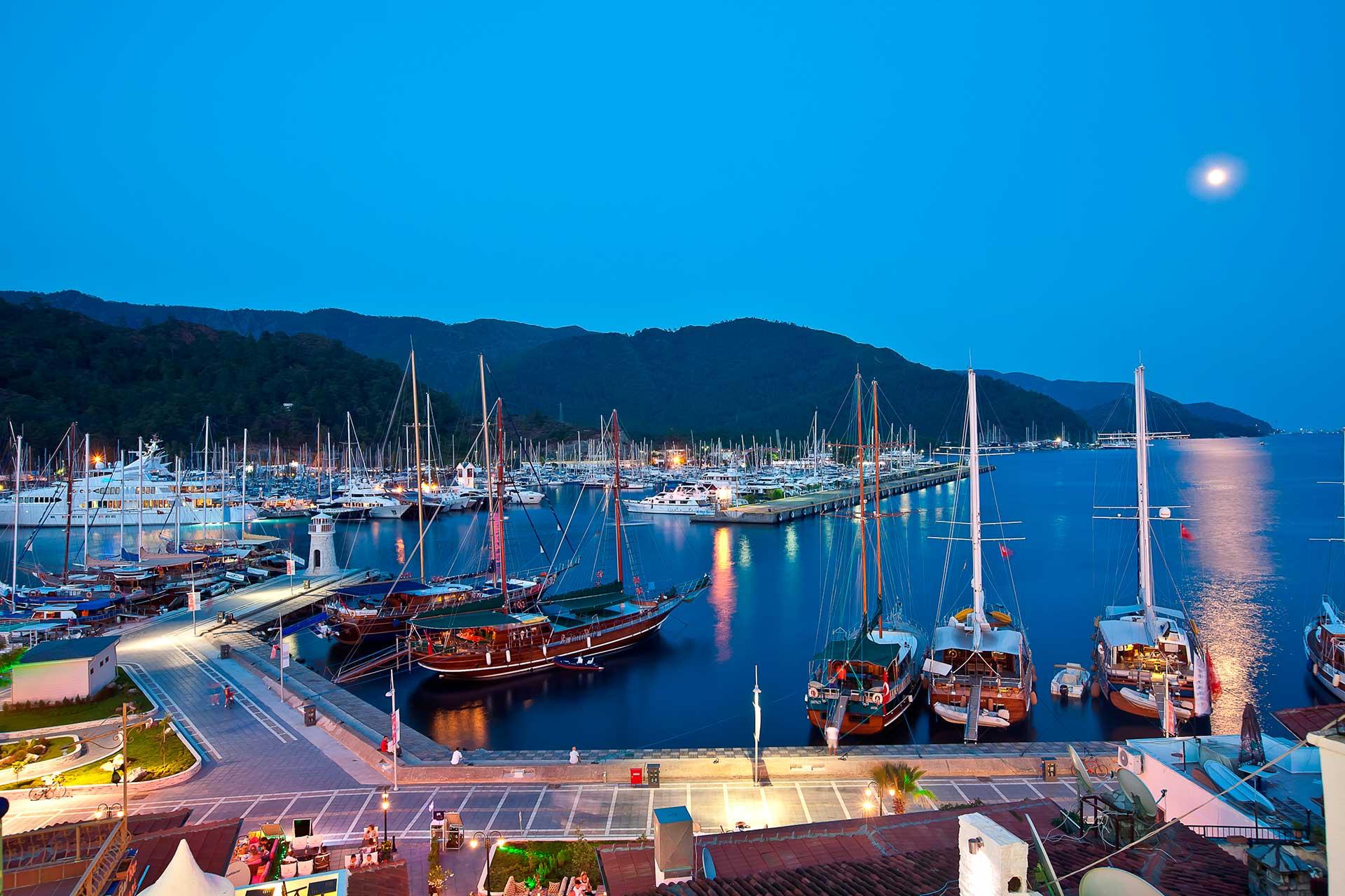 Alquiler de yate privado en Turquía